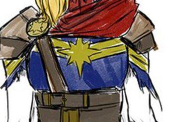 Captain Marvel devient fou avec les nouveaux costumes de Carnero