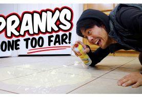 Alors que la popularité des vidéos de farces sur YouTube augmente, la course aux stupidités s'accélère