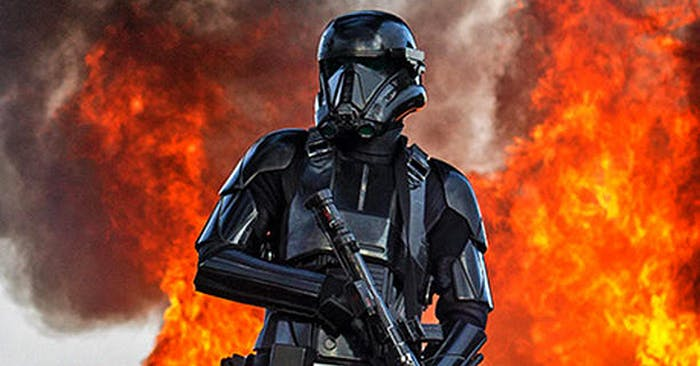 'Rogue One: A Star Wars Story' Reveals Explosive New Images
