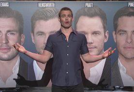 Chris Pine a demandé à SNL de préciser quel film de super-héros il était en train de jouer.