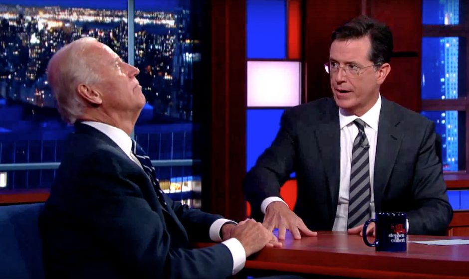 L'entretien avec Joe Biden de Stephen Colbert est le meilleur qu'il ait jamais réalisé