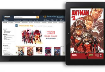 Un accord avec Amazon apporte 12 000 bandes dessinées Marvel à la boutique Kindle