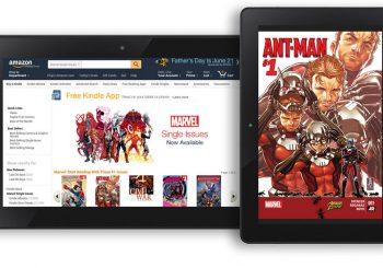 Un accord avec Amazon apporte 12 000 bandes dessinées Marvel à la boutique Kindle