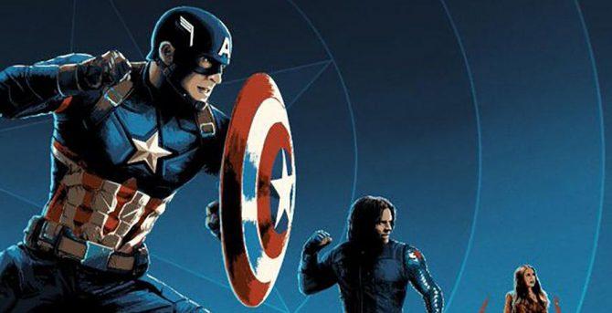 """REGARDER: Les Vengeurs partent en guerre avec les nouvelles affiches """"Captain America: Civil War"""""""
