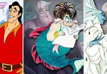 Retour à la planche à dessin: 26 pièces de personnages de Disney inutilisés