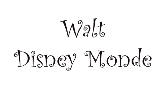 Walt Disney Monde
