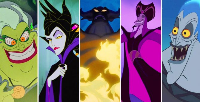 25 Disney Villains Ranked By Raw Power